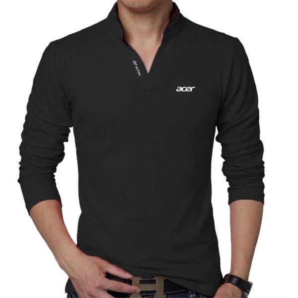 Camisa polo manga longa uniforme